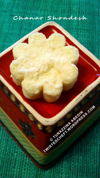 Bengali Sweet: Chanar Shondesh