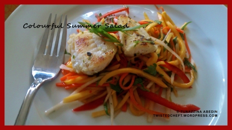 Julienne Salad with Fish