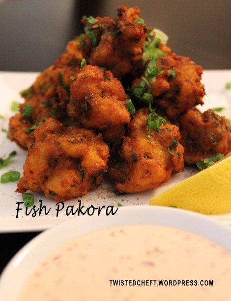 Macher bora, Fish Fritters