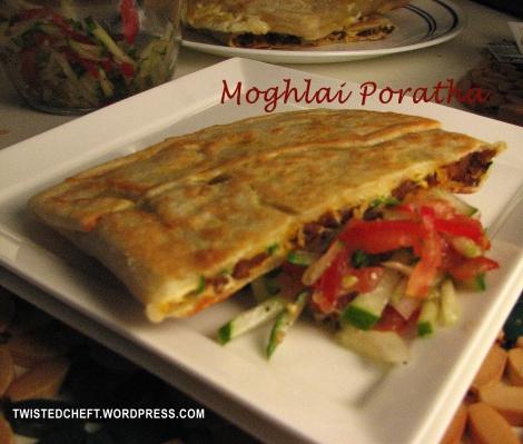 Moghlai Poratha: A Bengali Street Food!