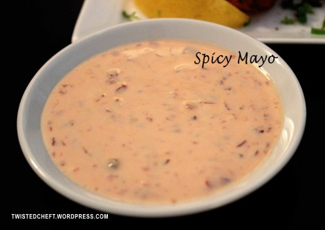 Spicy Mayonnaise, Dip, Sauce