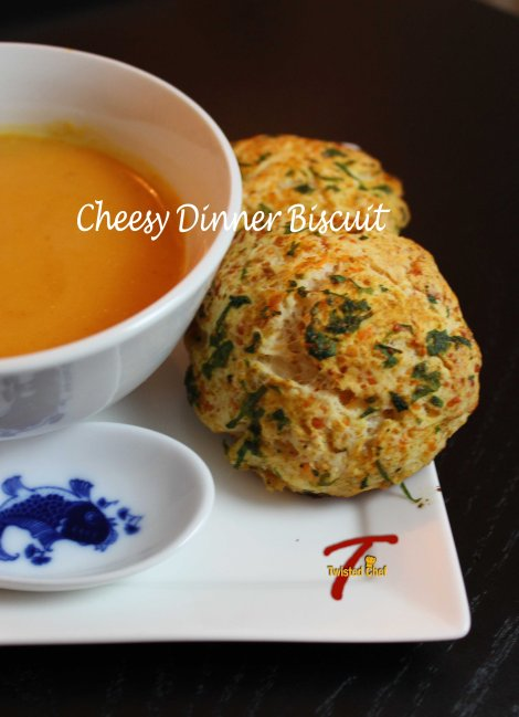 Easy, Cheesy Dinner Biscuit!