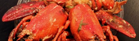 Chinese Ginger-green onion lobster