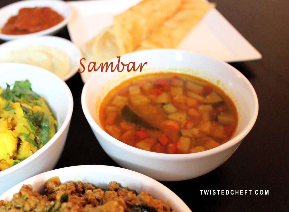 Manjula S Kitchen Sambar Recipe