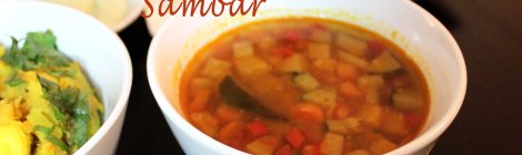 South Indian Soup, Vegetarian
