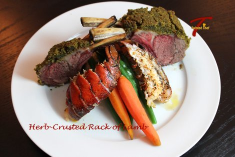 Chef Michael Smith's Herb Crusted Rack of Lamb