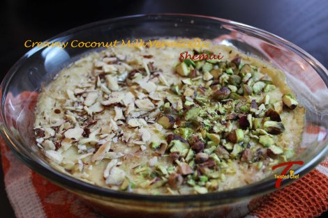 Creamy Coconut Milk Vermicelli: Shemai - Ready to Serve