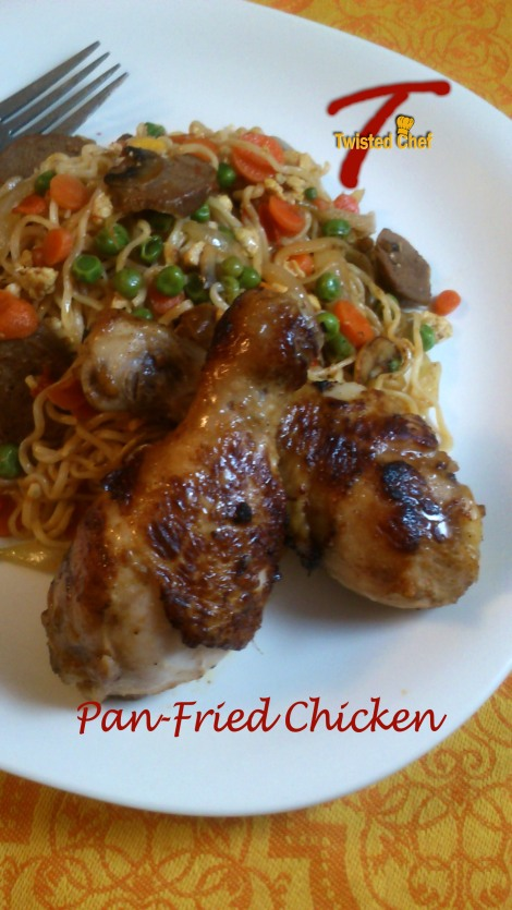 Pan-Fried Chicken! | Culinary Adventures of The Twisted Chef T