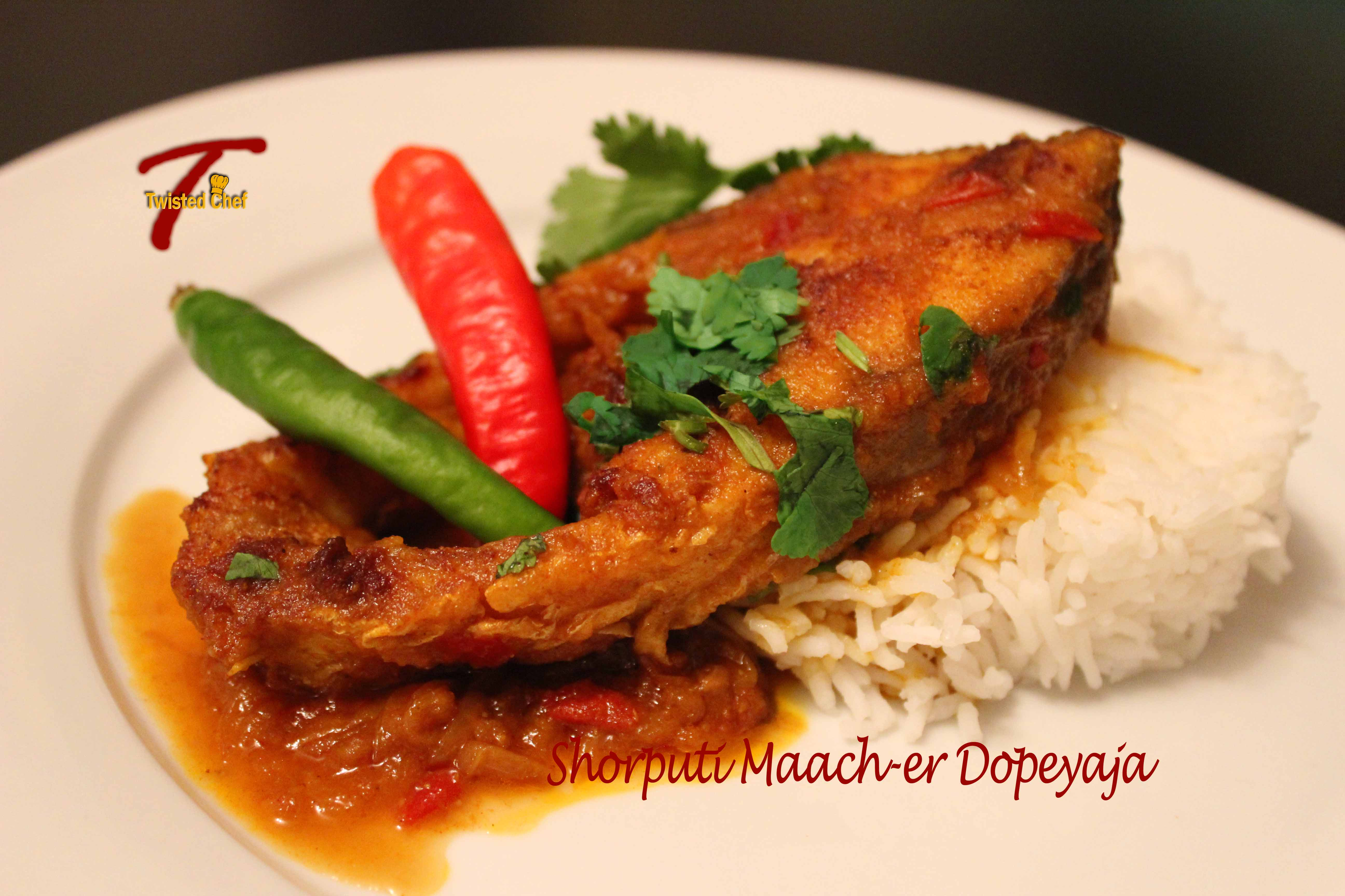 Bengali fish curry shorputi maacher dopeyaja culinary silver barb fish bengali curry forumfinder Gallery