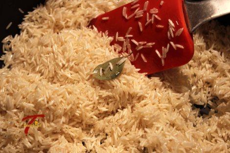 Moti-Polao: Polao - Frying Rice