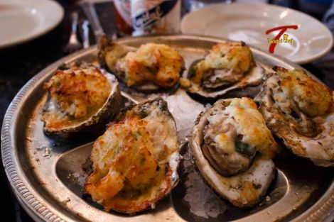 NOLA Baked Oysters