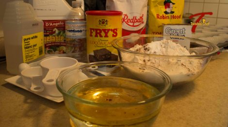 Vegan Chocolate Cupcakes - Ingredients