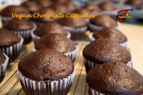Vegan Chocolate Cupcakes