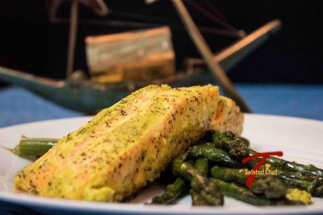 Salmon in Bengali-Style Mustard Sauce